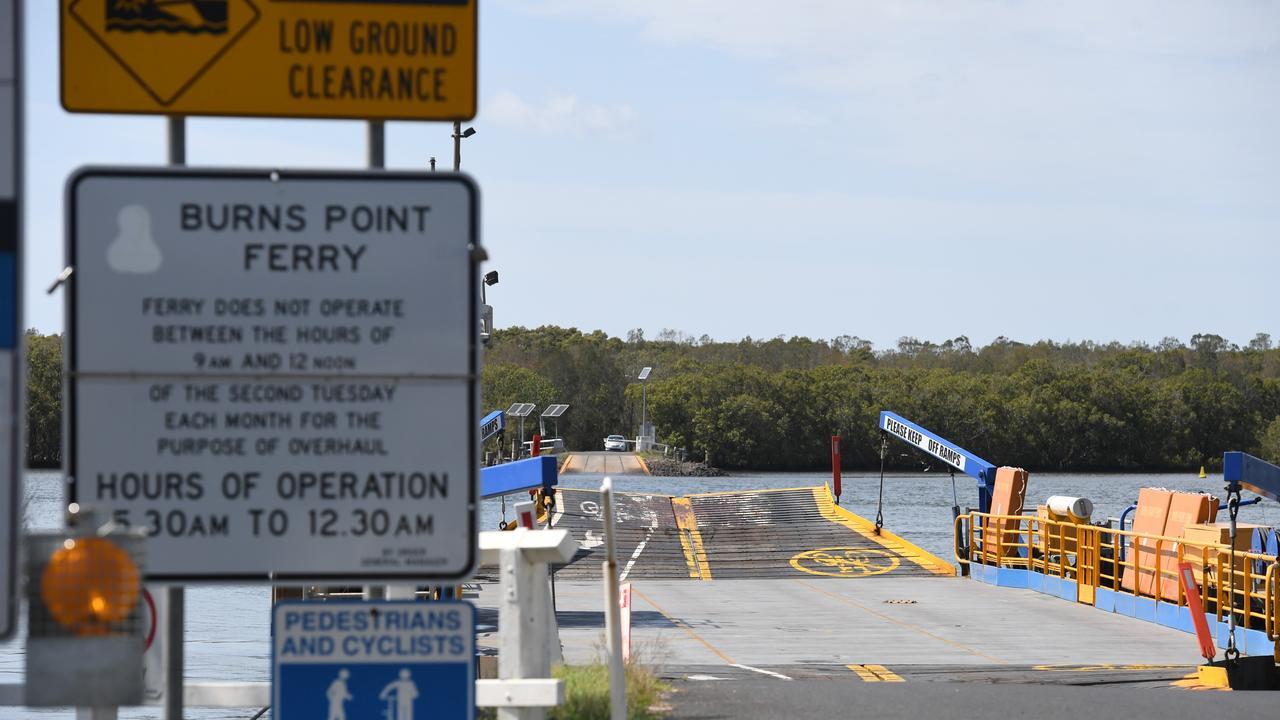 Burns Point Ferry.