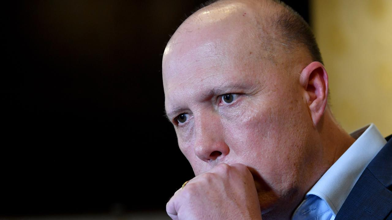 Home Affairs Minister Peter Dutton has become the first Australian politician to test positive for the coronavirus.