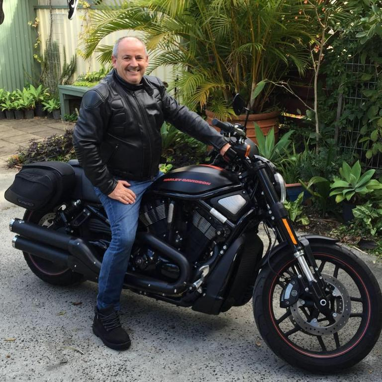 Andrew Hooker enjoyed riding motorcycles throughout his life.
