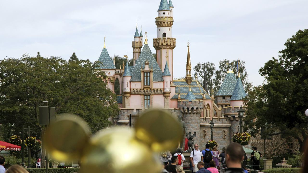 The threat of coronavirus will force Disneyland in California to close on Saturday for the fourth time in its 65-year history. Picture: Jae C. Hong/AP