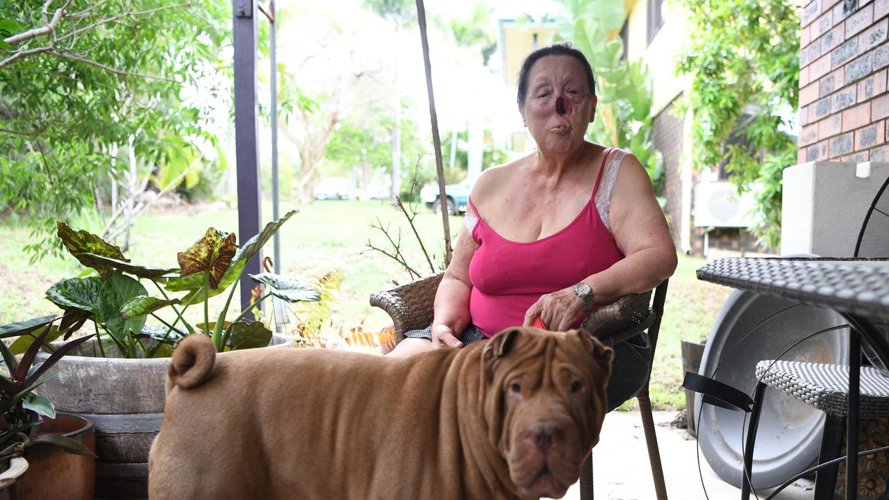 Jeni Lee and Boof have to move out of their Frenchville home following an eviction notice from the court