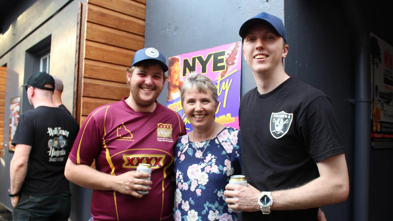 DIVISION SECURED: Nathan McNamara with unopposed councillor Roz Frohloff and her son Nick Frohloff. Photo: Laura Blackmore