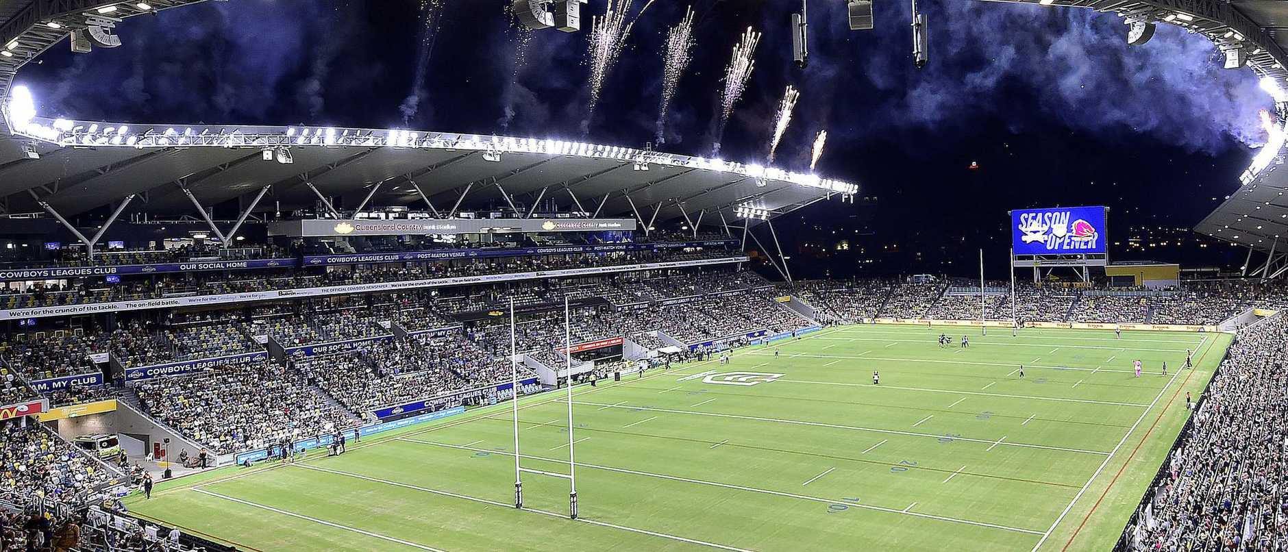 Annastacia Palaszczuk vehemently pushed for the season-opening Broncos vs Cowboys NRL game to proceed at the new north Queensland stadium in Townsville.