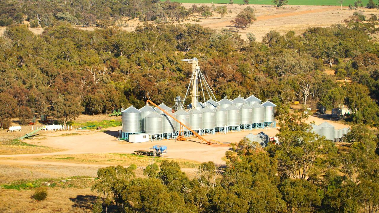 PRICES STABLE: Aerial photographs of farming country near Goondiwindi.