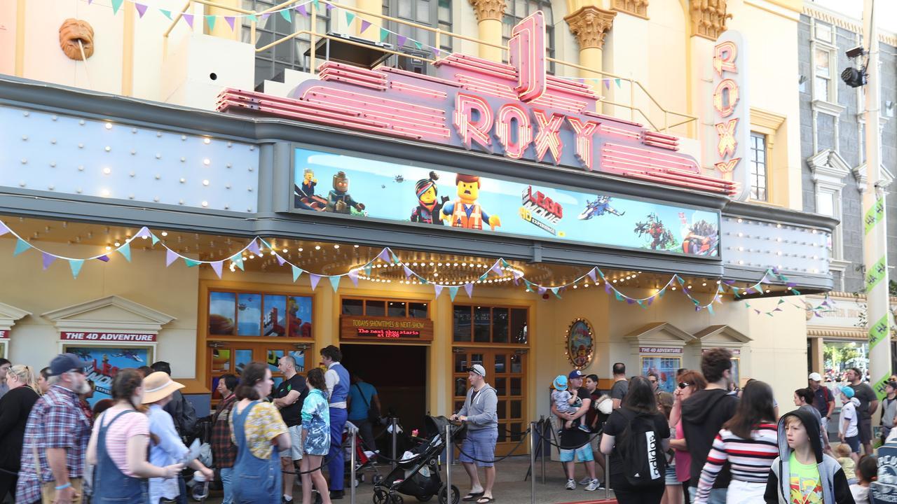 Movie world owner Village Roadshow has seen its stock price plummet today.