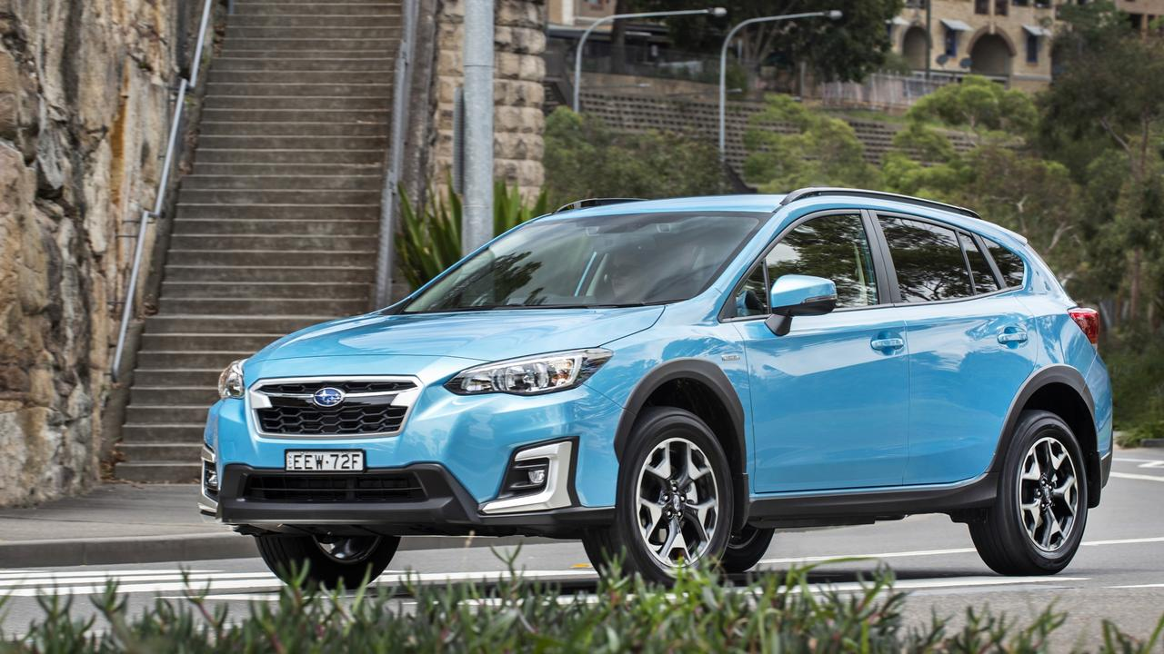 The XV Hybrid is a better proposition.