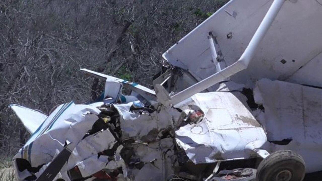 Middle Island plane crash