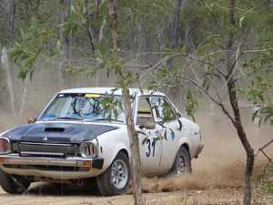 Weather perfect for some dirt drifting in first event