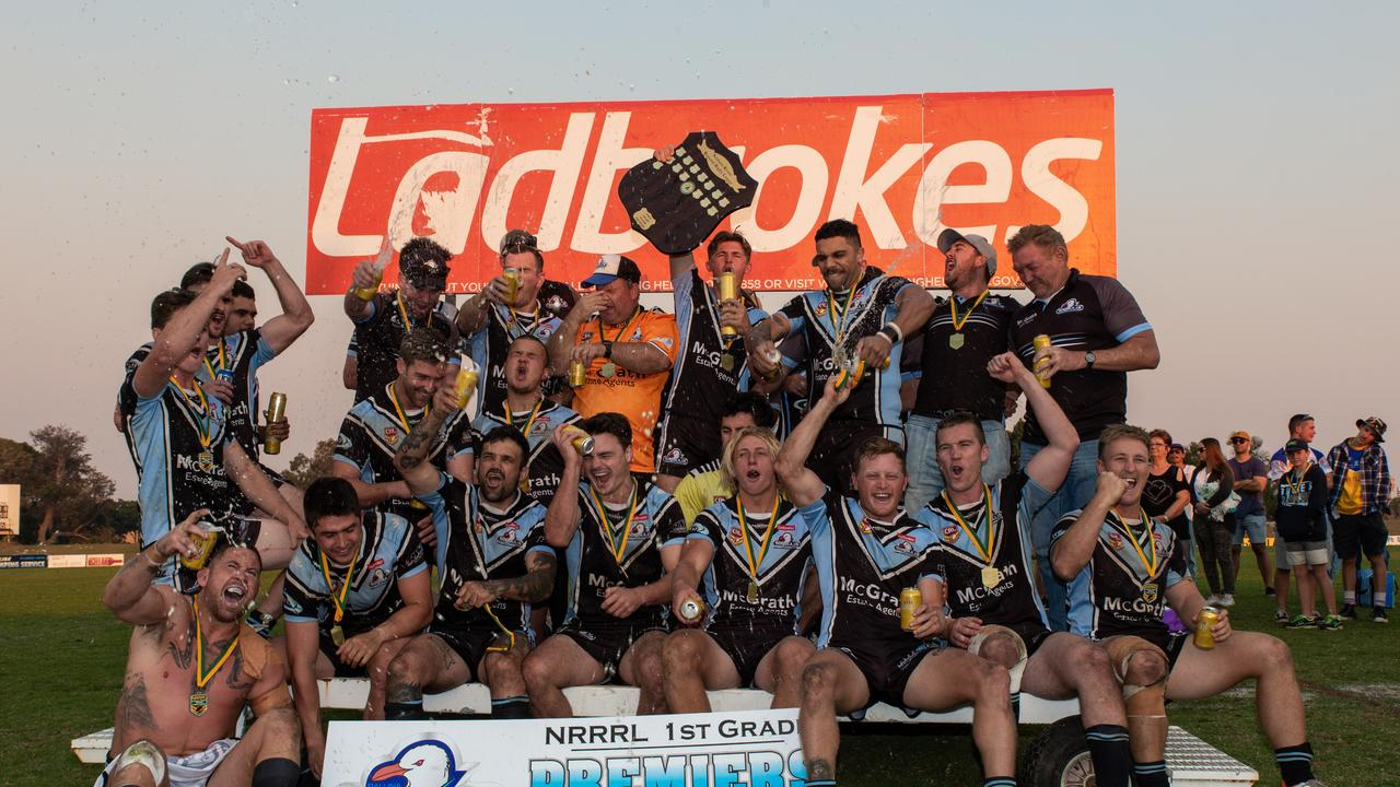 ready and willing: The Ballina Seagulls celebrated the 2019 NRRRL win over Murwillumbah and now they want to show the Grafton Ghost they have lost none of their fire when they meet at Kingsford Smith Park on Saturday March 14.