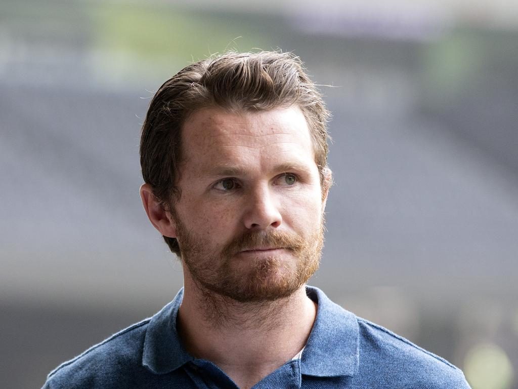 AFLPA president Patrick Dangerfield. Picture: Sarah Matray