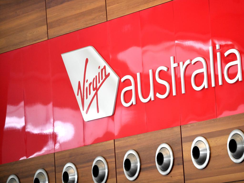 Virgin Australia Airlines has a crew member with the virus. Picture: AP