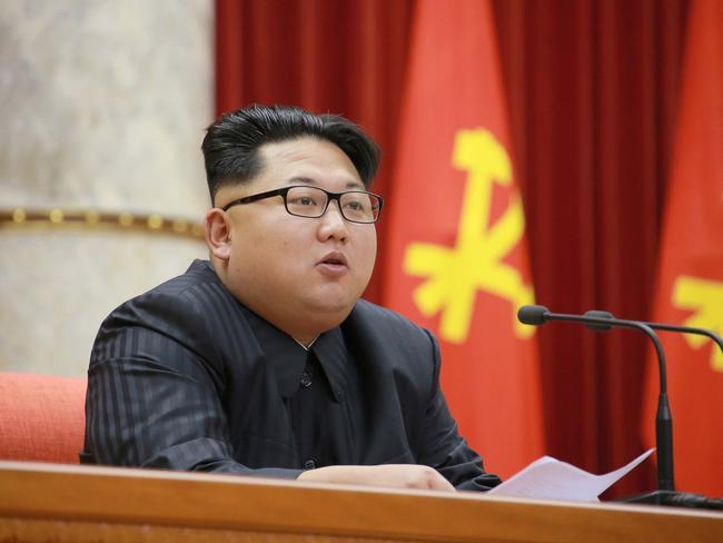 Kim Jong Un really, really does not like America. Picture: AFP / KCNA via KNS