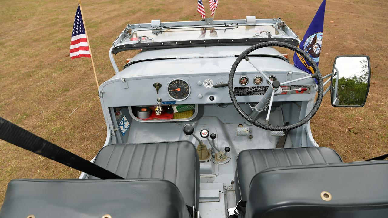 The 1958 Willys Jeep. Photo Patrick Woods / Sunshine Coast Daily.