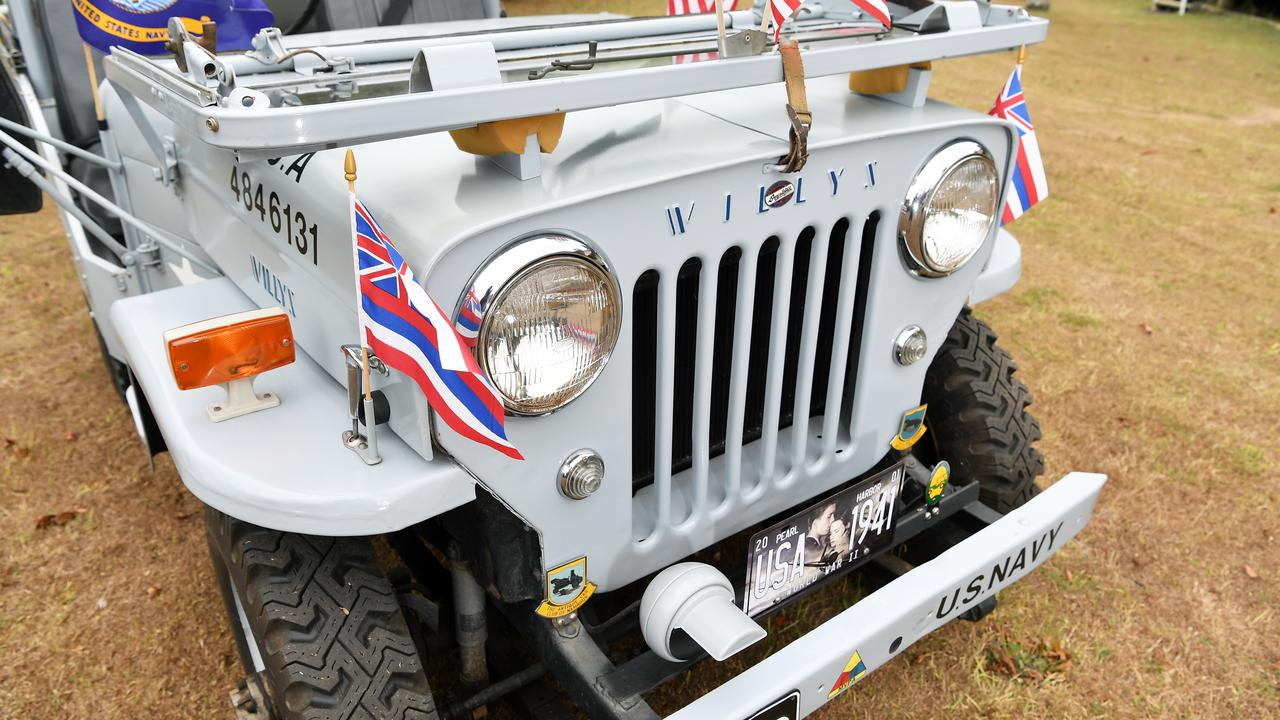 The 1958 Willy's Jeep. Photo Patrick Woods / Sunshine Coast Daily.