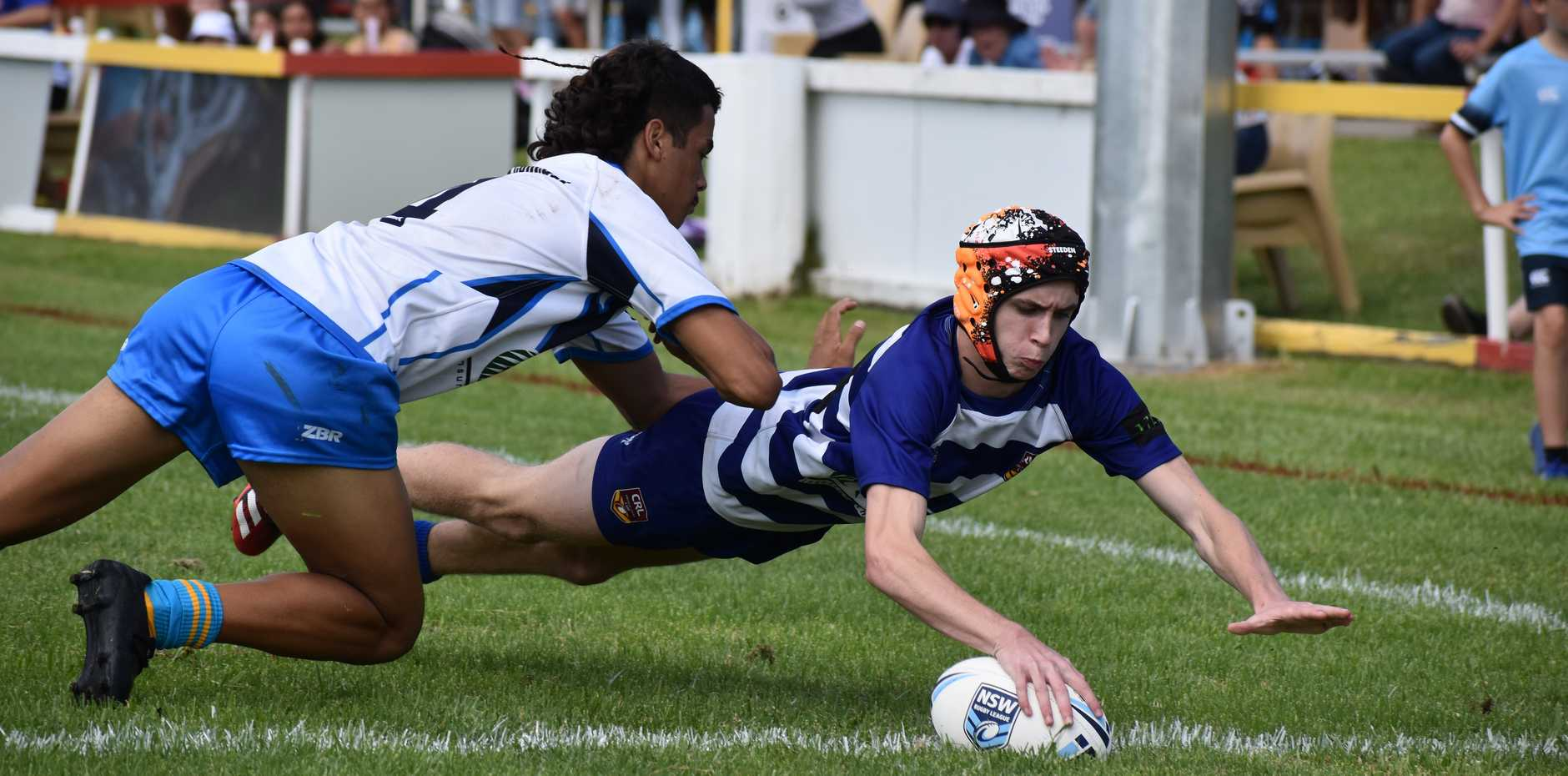 The North Coast Bulldogs and Northern Rivers Titans played a Country Championship match at Coffs Harbour's Geoff King Motors Oval in the Andrew Johns Under 16s Cup on Saturday, March 14, 2020. The Titans held on to win 20-18.