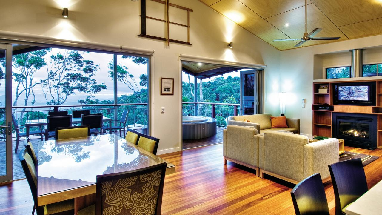 O'Reilly's Rainforest Retreat is a well-known Hinterland venture.