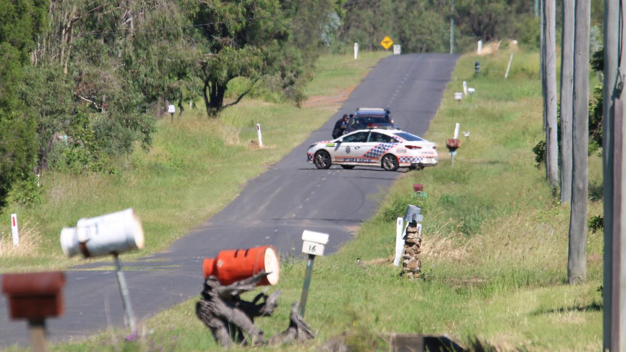 HORROR: Police are continuing to investigate the circumstances surrounding the shooting death of a man in Lockyer Waters on Saturday morning. Picture: Dominic Elsome