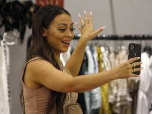 Social media star tries on 60 items at boutique