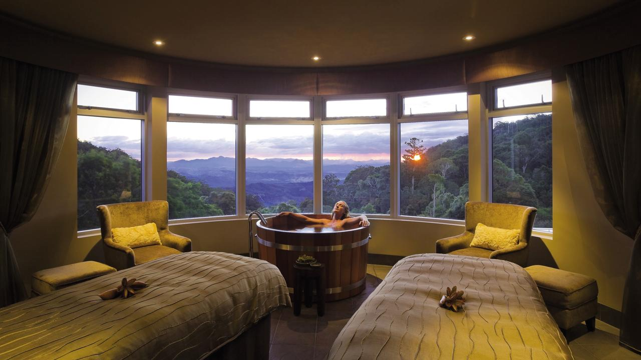 One of the rooms at O'Reilly's Rainforest Retreat. Picture: Supplied
