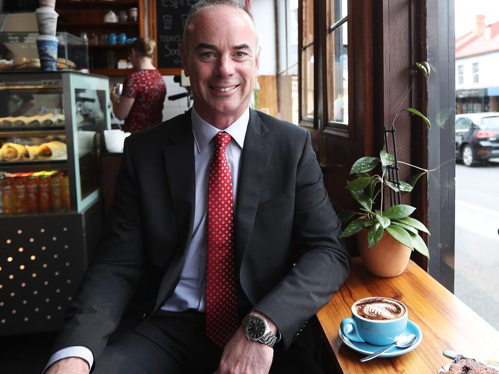 Real Estate Institute of Australia President Adrian Kelly. Picture: Luke Bowden