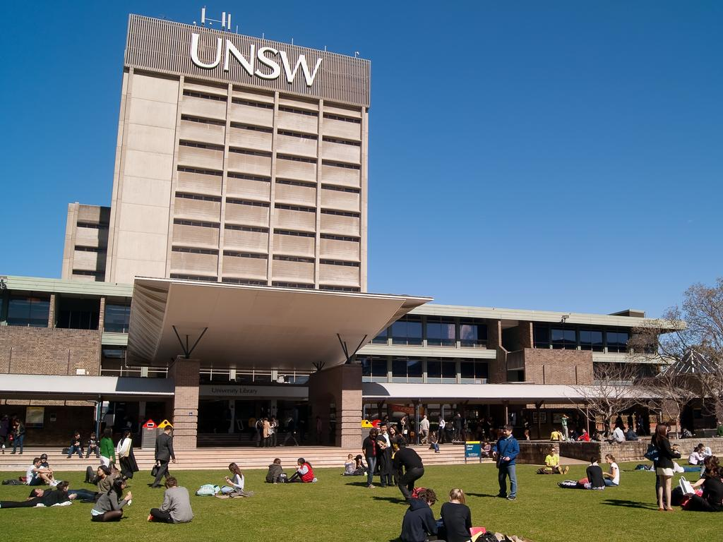 Students on campus at the University of New South Wales (UNSW). Picture: iStock