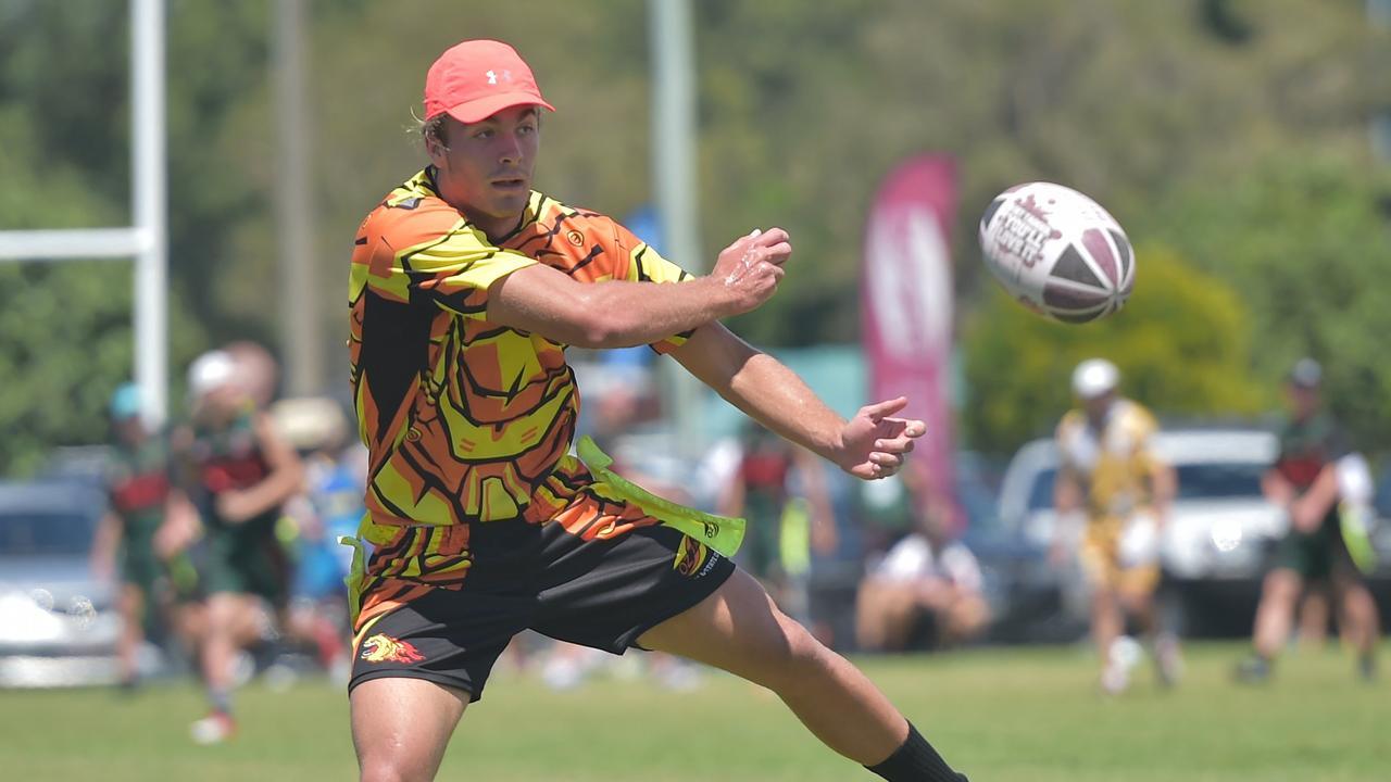 Oztag State Cup is underway at Sunshine Coast Stadium. Photo: Warren Lynam