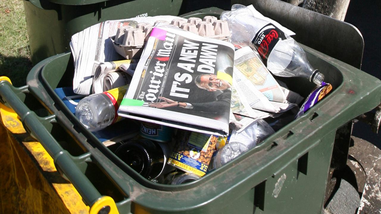 Normal bins will be emptied but recycling pick-ups could be delayed.