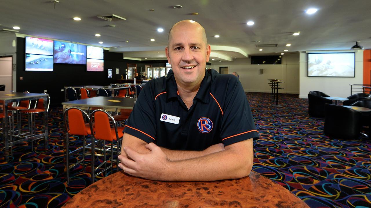 Gavin Shuker at the Rocky Sports Club.