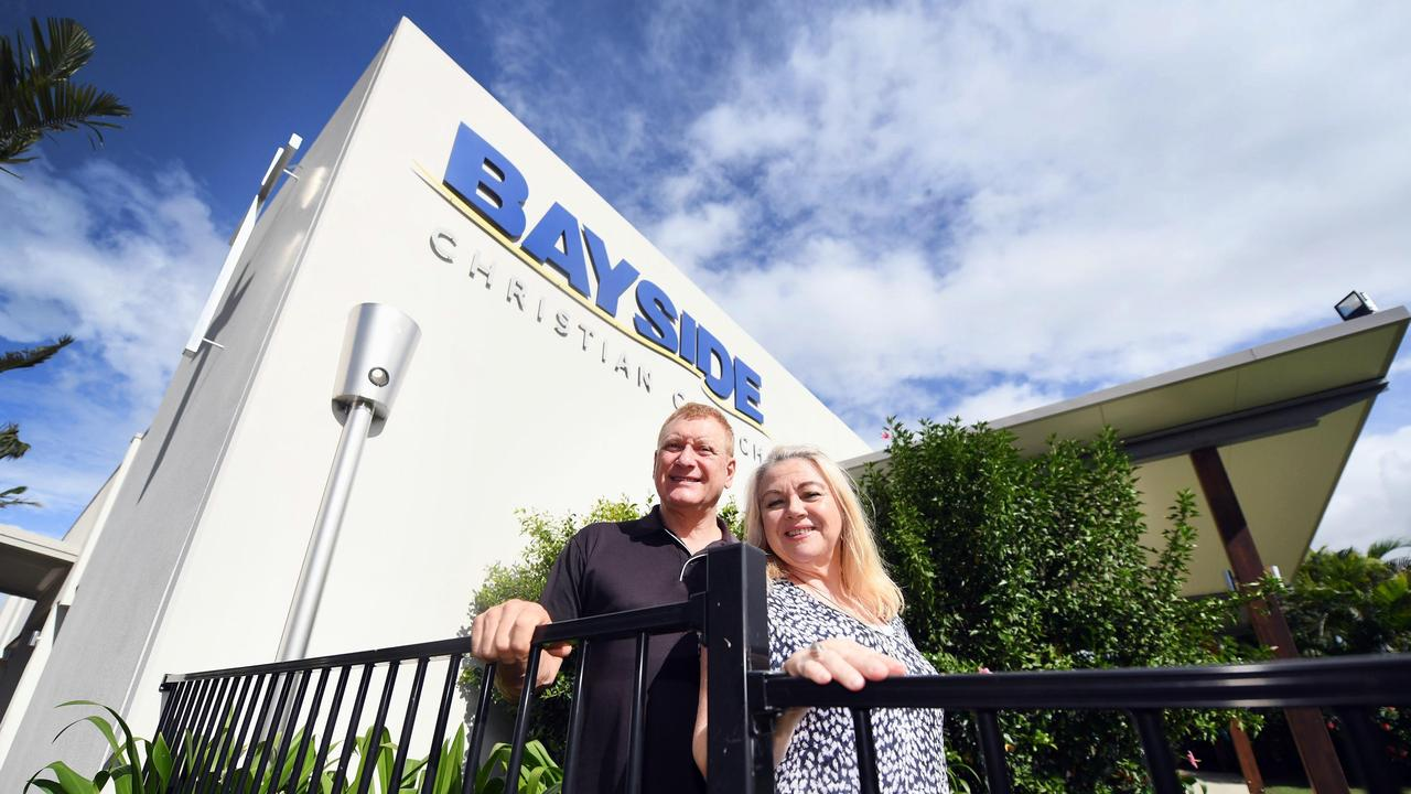 Church Expansion - Pastor Ross Davie and wife Mary-Lyn Davie from Bayside Christian Church. Photo: Cody Fox