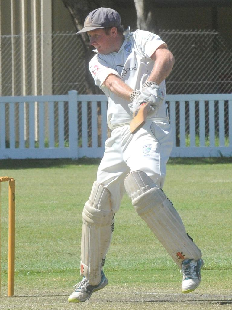 Hayden McMahon scored 34 for Harwood in the match against Valleys at Yamba Oval in the last round of the 2019/20 North Coast Premier League on Saturday, 14th March, 2020.