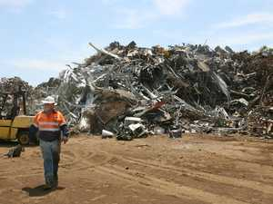 Scrap metal businesses fight it out in court