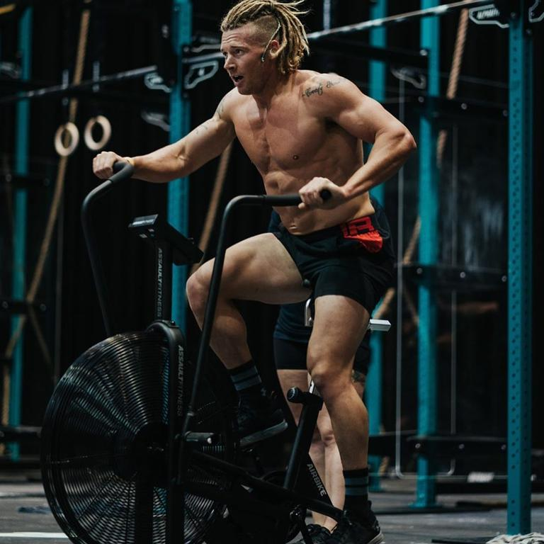 The fitness industry is insiting it is still safe to go to the gym, with Fitness Australia stating exercise helps the body's immune system. Picture: Instagram / James Newbury