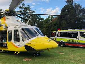 Boy rescued after falling down cliff face