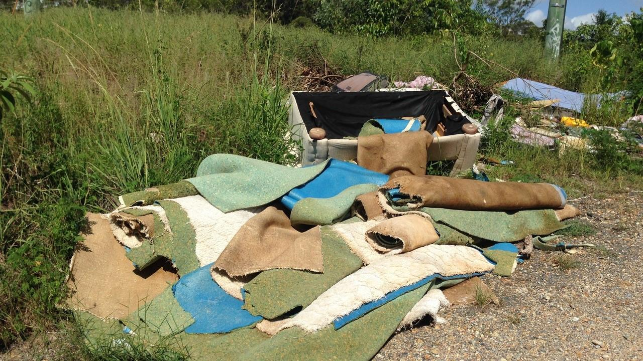 You can report incidents of waste dumping to Clarence Valley Council.