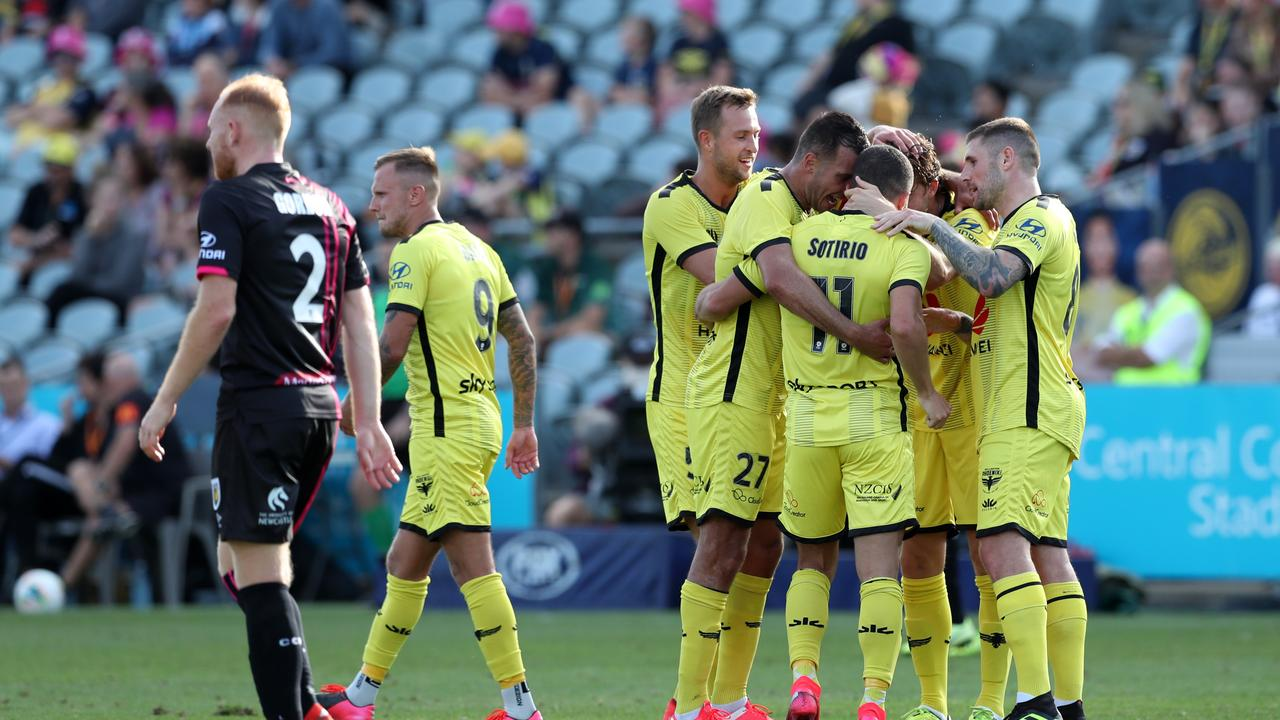Wellington Phoenix remains the most complex part of the A-League's plans. Picture: Getty