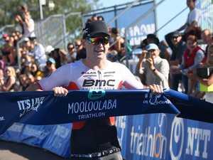 Mooloolaba Tri winner surprised but glad to race