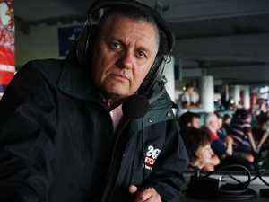 Nine's tough call on footy commentator Ray Hadley