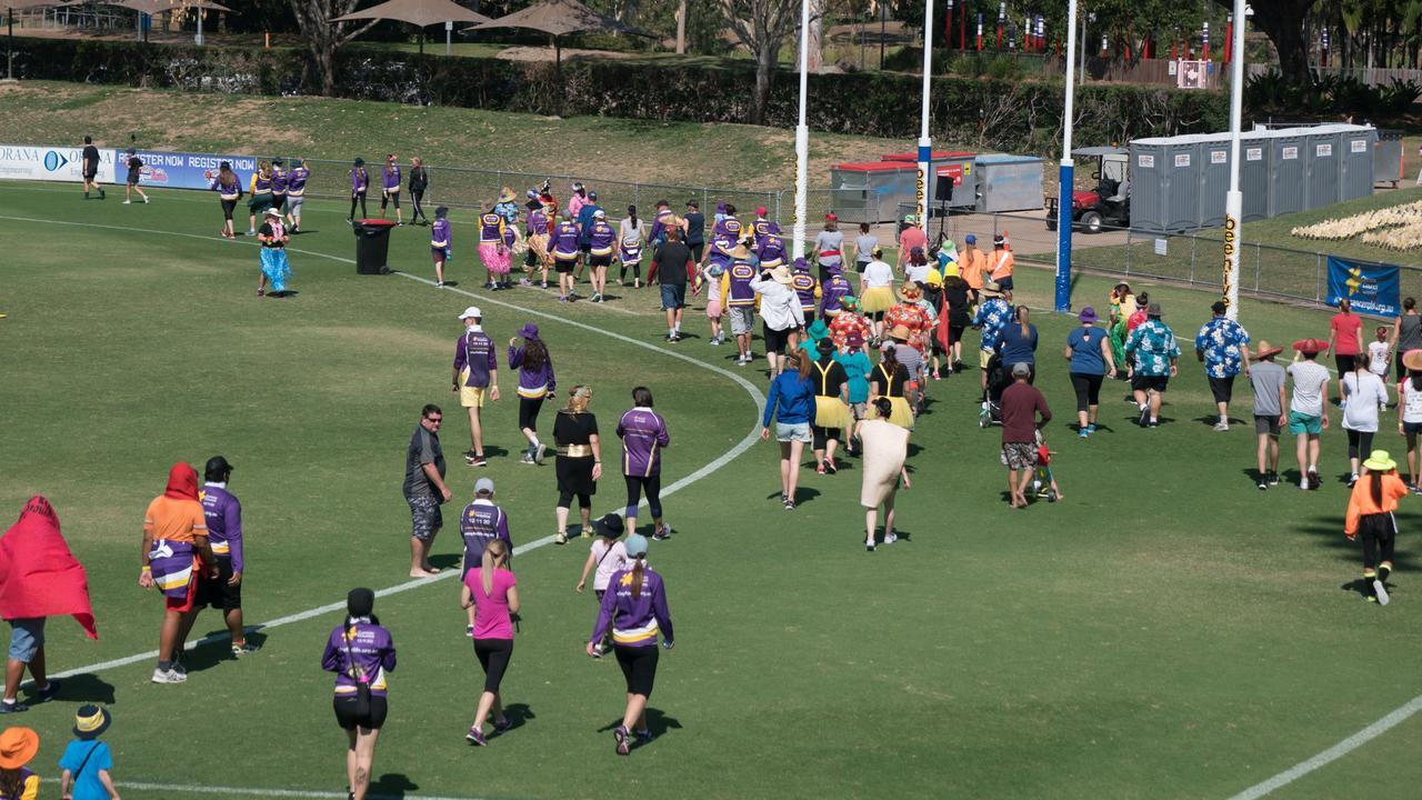 RALLYING SUPPORT: Relay for Life attracts hundreds of supporters each year in Queensland.