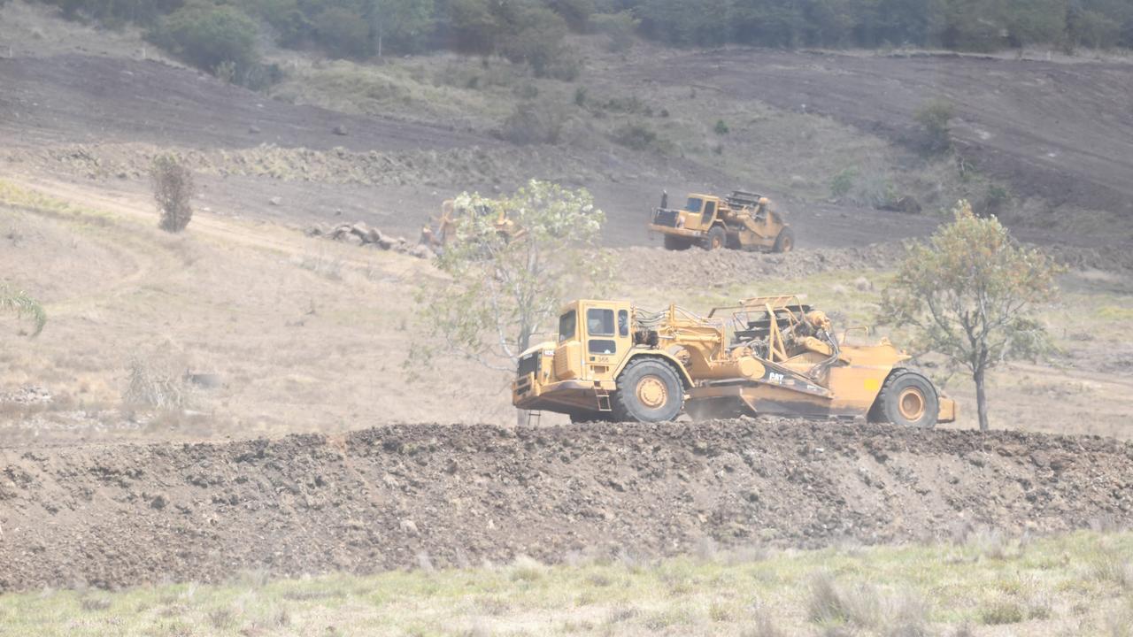 Work begins at the North Lismore Plateau development.