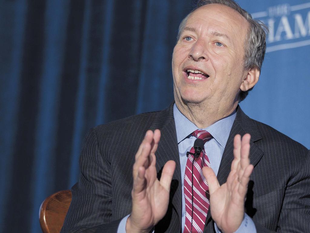 Professor Larry Summers. Picture: Bloomberg,