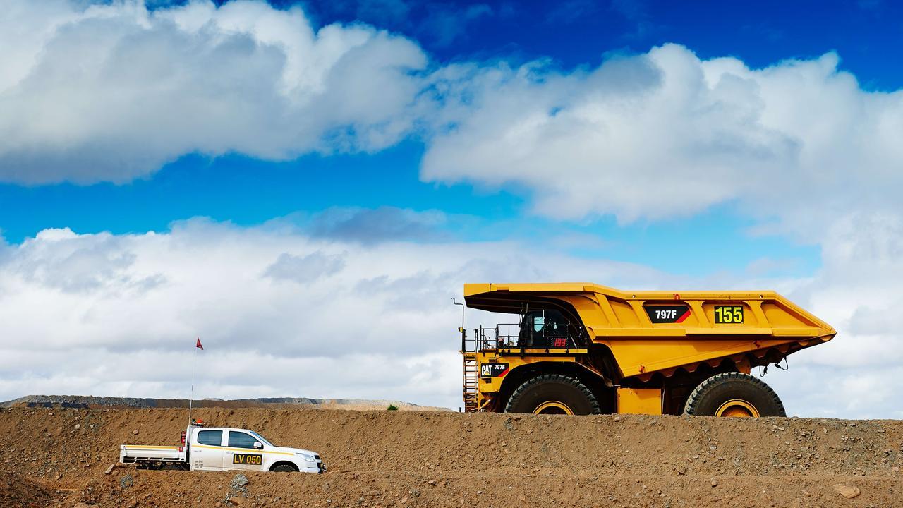 BMA's Daunia mine in Central Queensland.