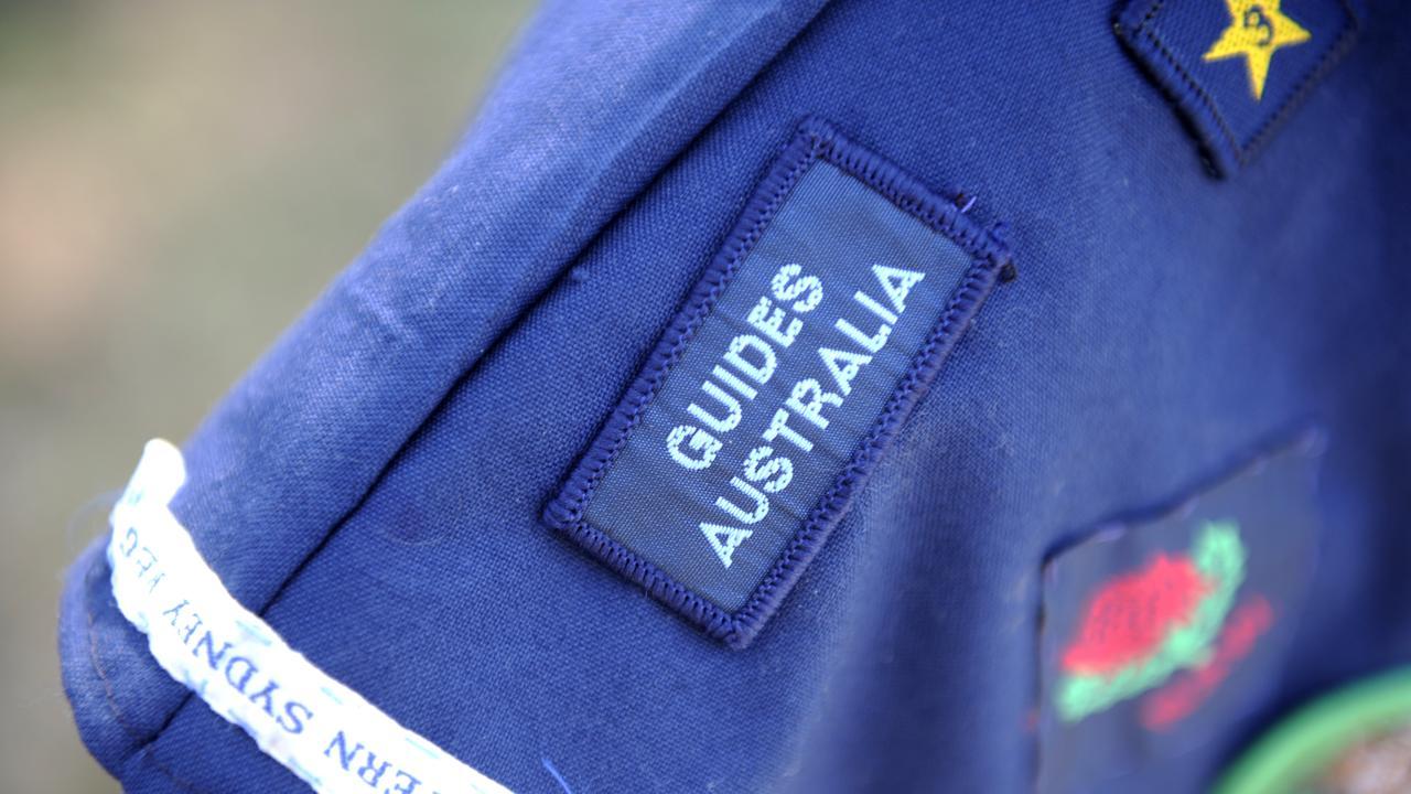 Girl Guides insignia.