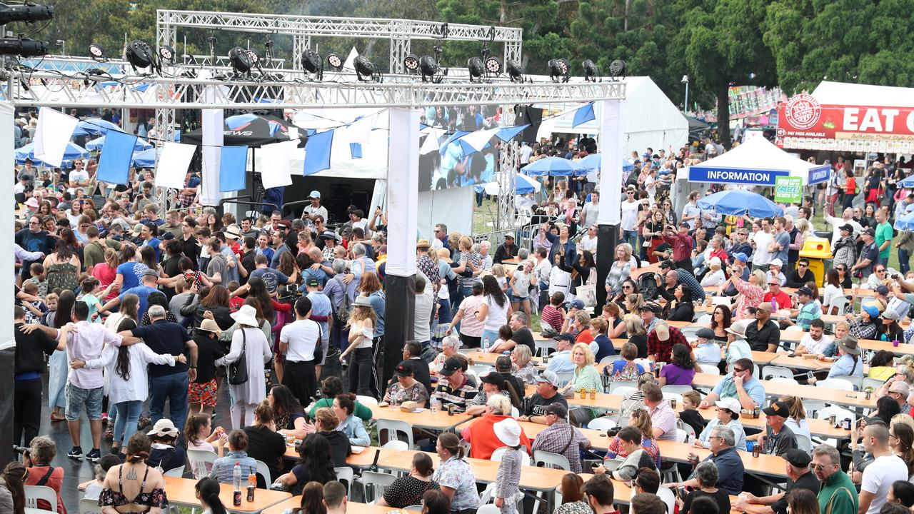 This year's Paniyiri Greek Festival has been cancelled. Picture: Peter Wallis