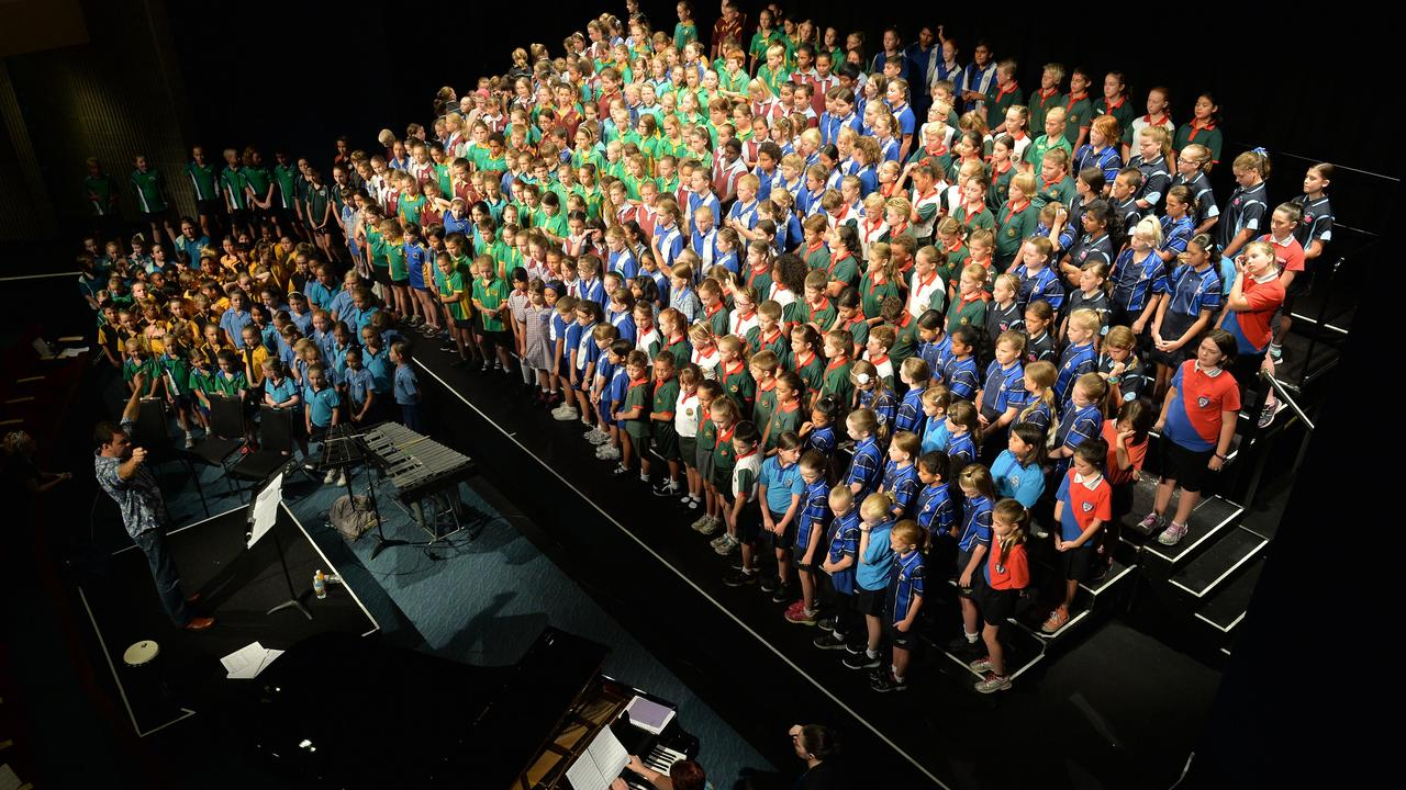 More than 500 children will miss out on the annual Regional Choral Festival after it was cancelled due to the coronavirus threat. Photo: Tony Martin
