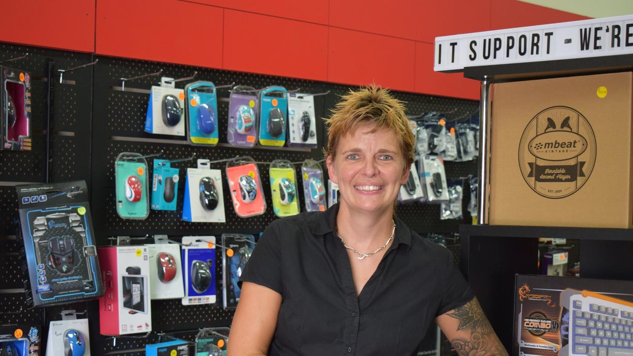 Gem Green, co-owner of PC Place – the business helping Mrs Cox with her online movement.