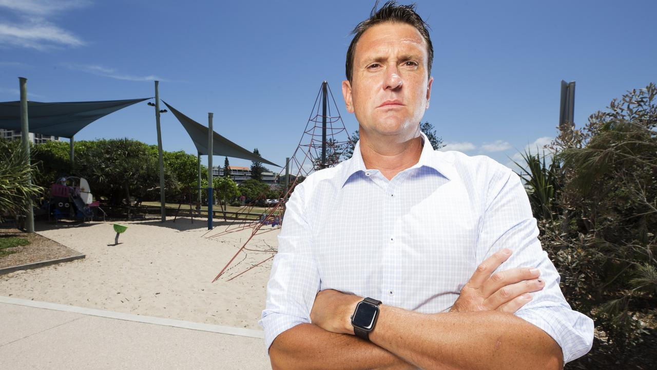 Liberal MP for Ninderry and former Child Sex Offender Detective Dan Purdie. Photo: Lachie Millard
