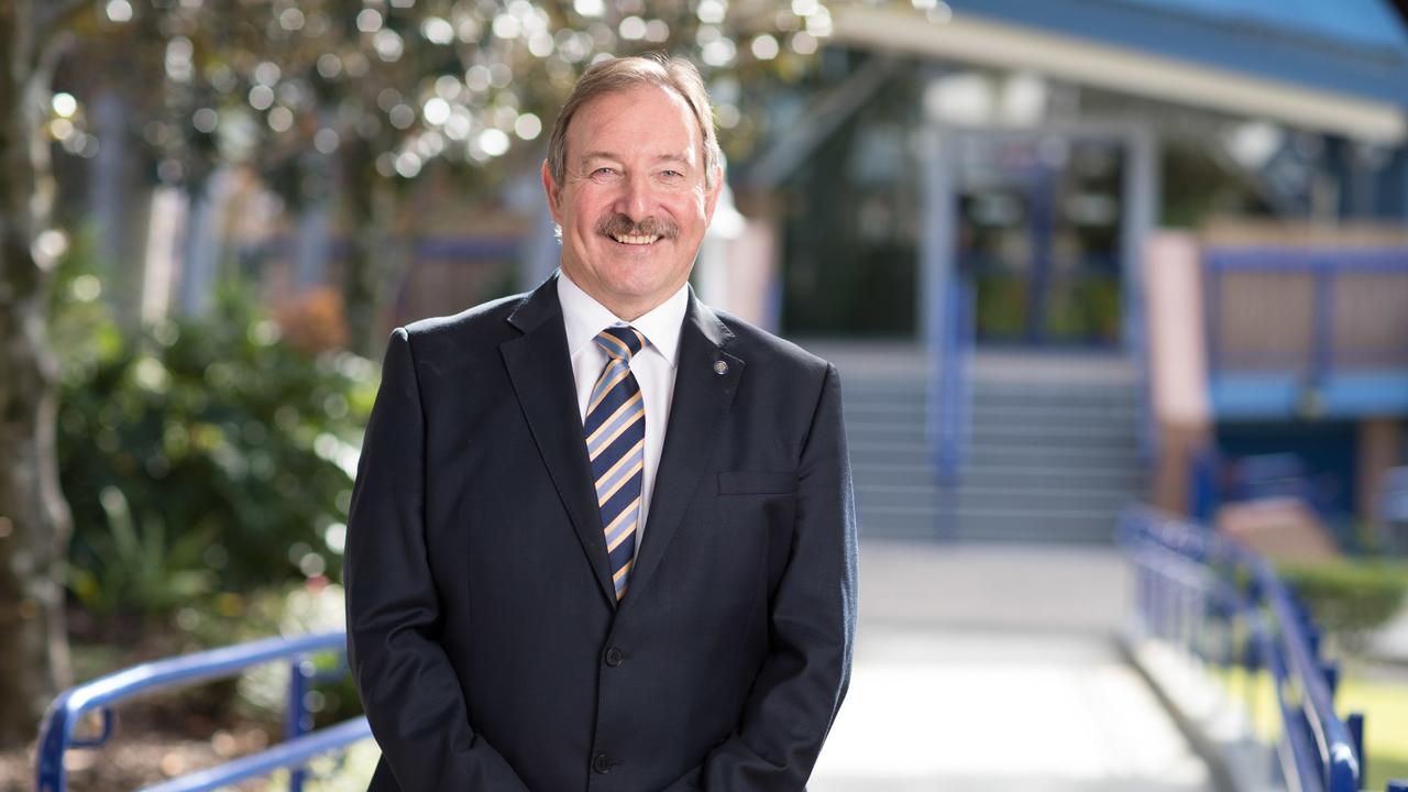 Patrick Wallas, Headmaster, All Saints Anglican School. Photo: Supplied.