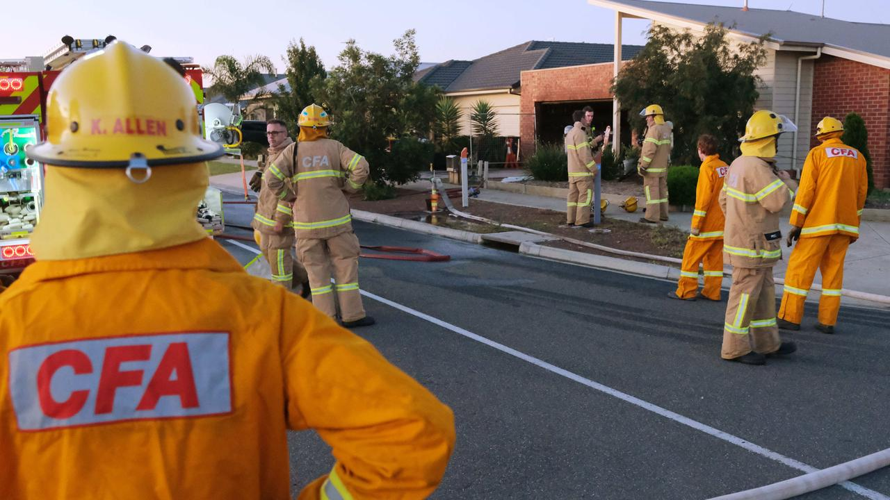 House Fire CFA attended a fire at 25 Abigail crt Armstrong Creek Picture: Mark Wilson