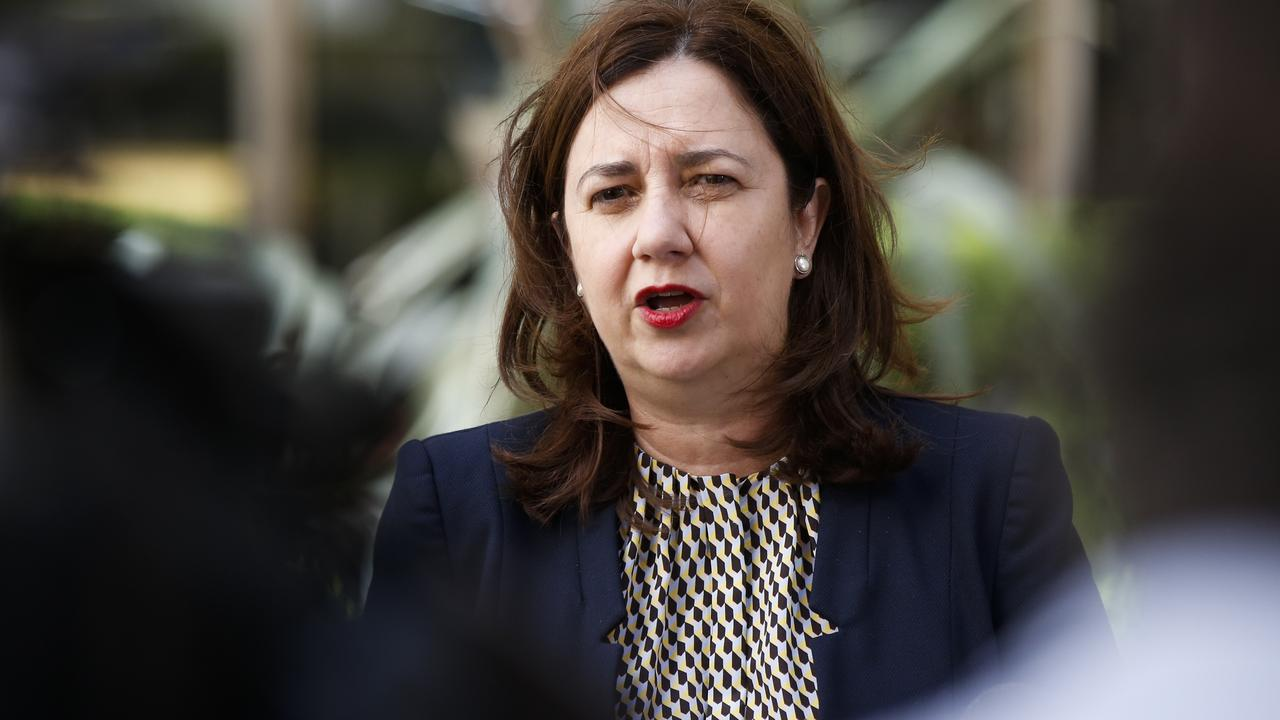Premier Anastasia Palaszczuk is seeking advice about the local government elections. Picture: Dylan Robinson