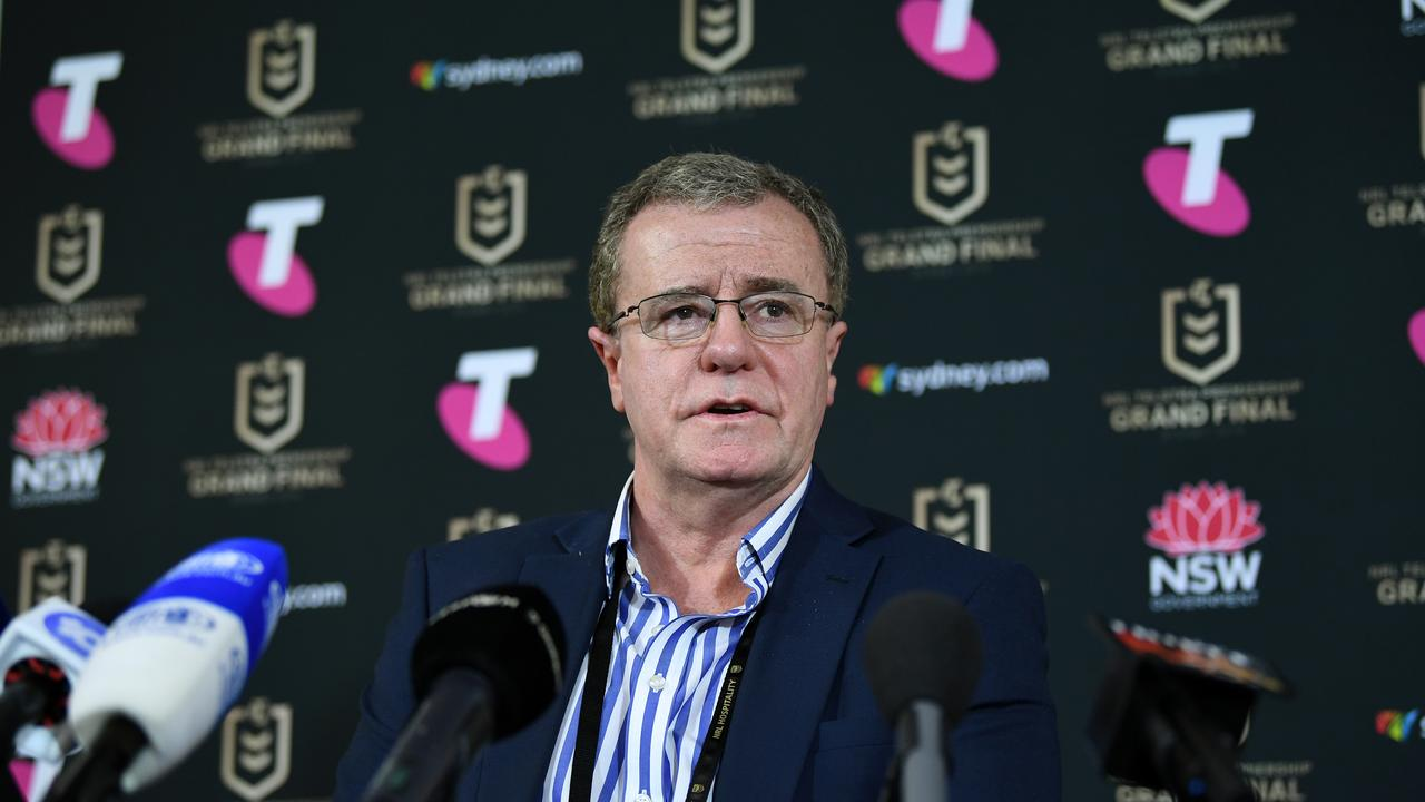 Graham Annesley's Captain's Challenge rule has been met with a mixed response. Picture: AAP
